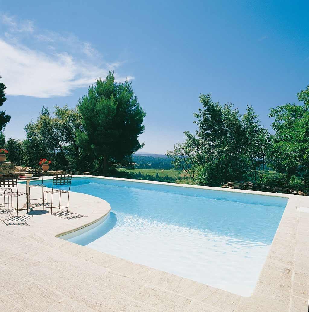 Piscinas de luxo piscinas desjoyaux - Piscinas enterradas ...